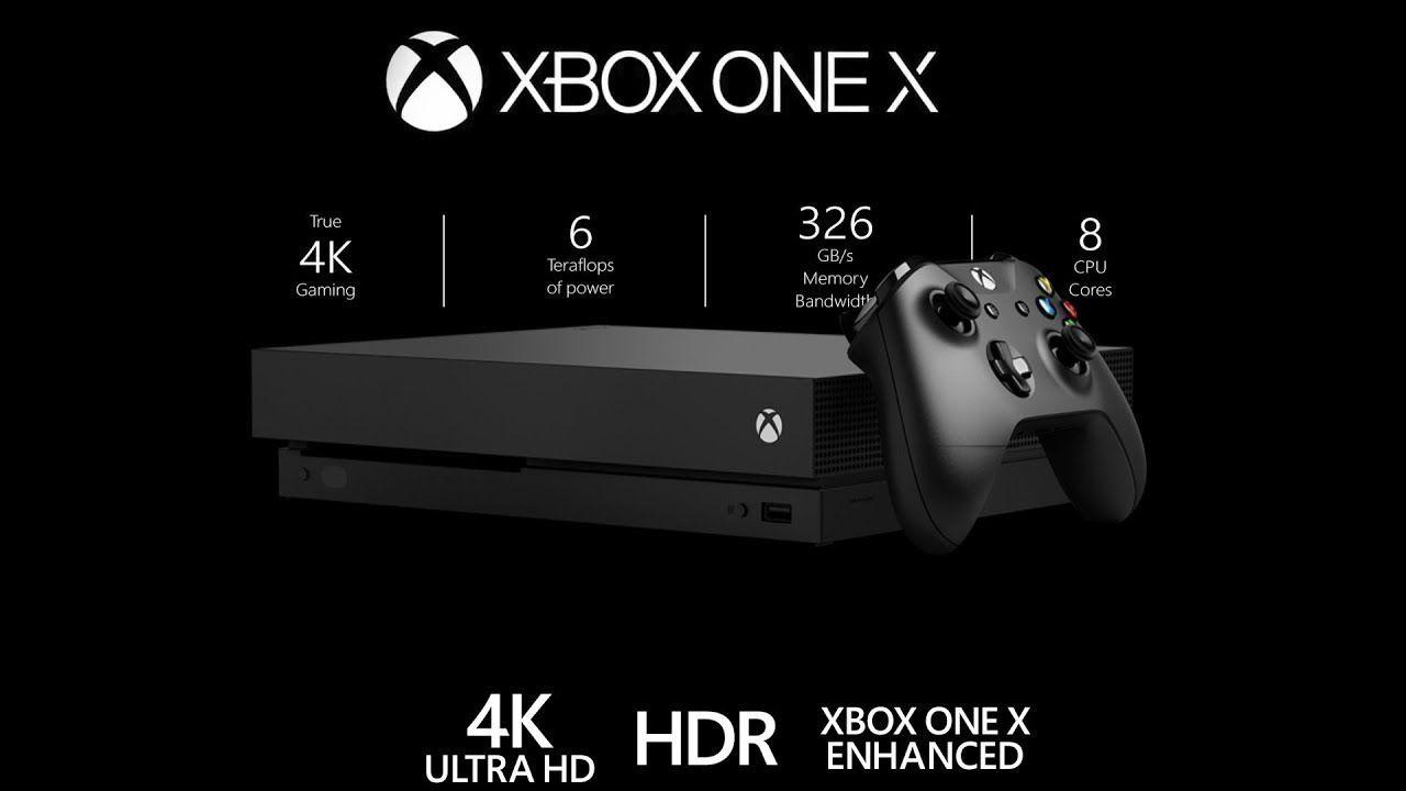 Xbox One X 4K HDR 1TB