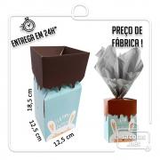 Caixa Box Coelho 18,5 x 12,5 x 12,5 cm (AxLxP) - pacote com 5 unidades