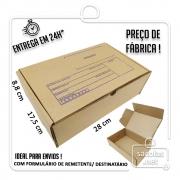 Caixa E-commerce Papelão IP 28x17,5x8,8cm (LxPxA) 1 unidade