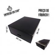 Caixa Gaveta Organizadora 38 x 30 x 13 cm - pacote com 5 unidades