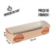 Caixa Hot Dog 19x6x4 cm (AxLxP) - pacote com 5 unidades