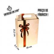 Caixa LA Laços 23x18x6 cm (AxLxP) - pacote com 1 unidade
