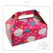 Caixa Lancheira Cat 7x19x11 cm(AxLxP) - pacotes com 5 unidades