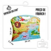 Caixa Maleta P Zoo 20,5 x 26 x 5,5 cm (AxLxP) - pacote com 5 unidades