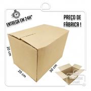 Caixa Papelão Transporte IP 30x20x20cm (LxPxA) 1 unidade