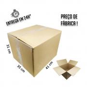 Caixa Papelão Transporte IP 31x41x35cm (LxPxA) 1 unidade