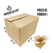 Caixa Papelão Transporte IP 35x25x25cm (LxPxA) 1 unidade