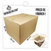Caixa Papelão Transporte IP 40x30x30cm (LxPxA) 1 unidade