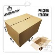 Caixa Papelão Transporte IP 50x40x35cm (LxPxA) 1 unidade