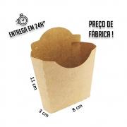 Caixa Porção MC para Batata 11x8x3 cm (AxLxP) - pacote com 100 unidades