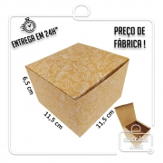 Caixa para Hamburguer estampa lanche branca 6,5x11,5x11,5 cm (AxLxP) - pacote com 100 unidades