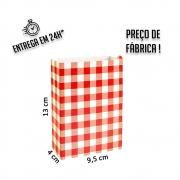 Caixa para Porção 13x9,5x4 cm (AxLxP) - pacote com 5 unidades