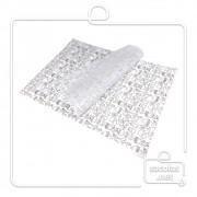 Papel Anti Gordura estampa lanche preta 30x40 cm (papel manteiga) - pacote com 200 folhas