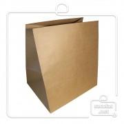 Saco Kraft delivery 33x30x23 cm (AxLxP) - pacote com 50 unidades