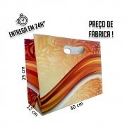 Sacola chocolate 25x30x12 cm (AxLxP) - pacote com 1 unidade