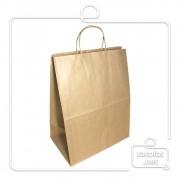 Sacola Kraft delivery 38x30x19 cm (AxLxP) - pacote com 100 unidades