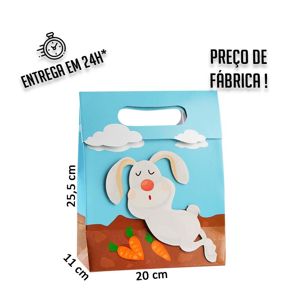 Caixa BC Coelho 25,5 x 20 x 11 cm (AxLxP) - pacote com 5 unidades