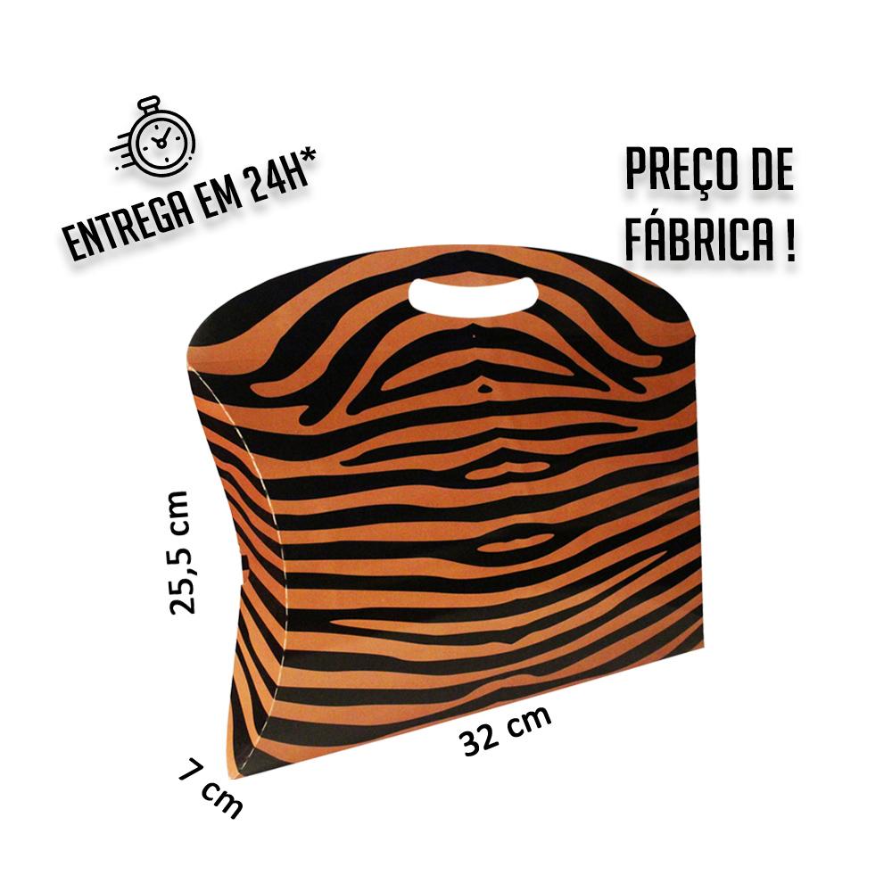 Caixa Maleta Animal 25,5x32x7 cm (AxLxP) - pacote com 1 unidade