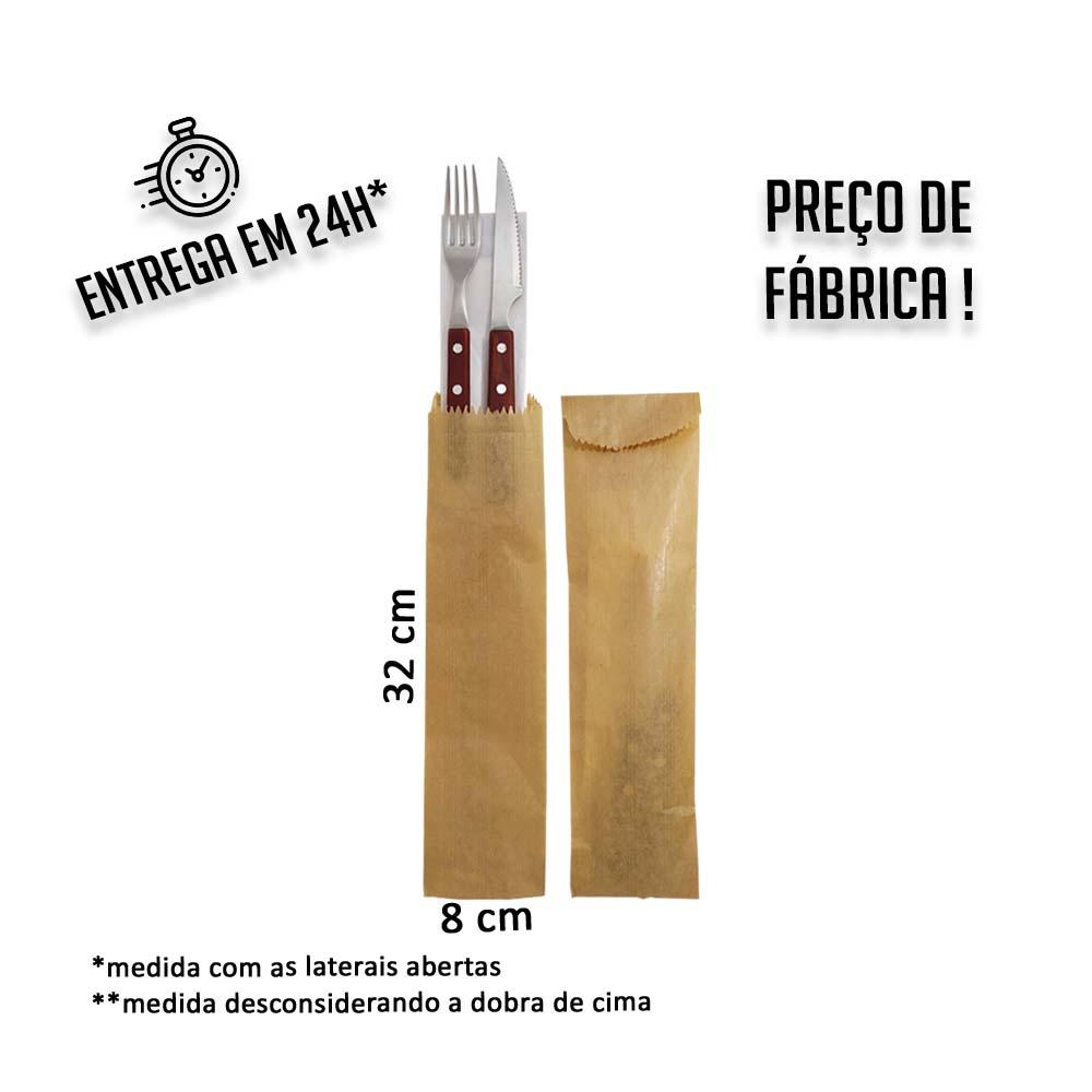 Porta Talher 32 x 8 cm (AxL) - pacote com 500 uni