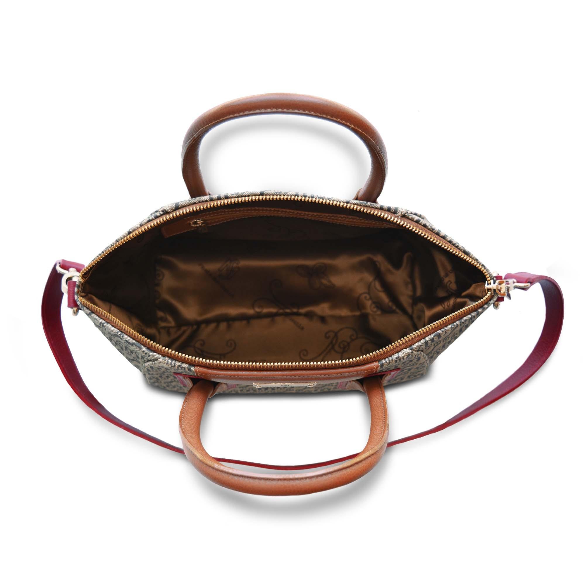 Bolsa de Mão SM 2613 - Monograma Couro