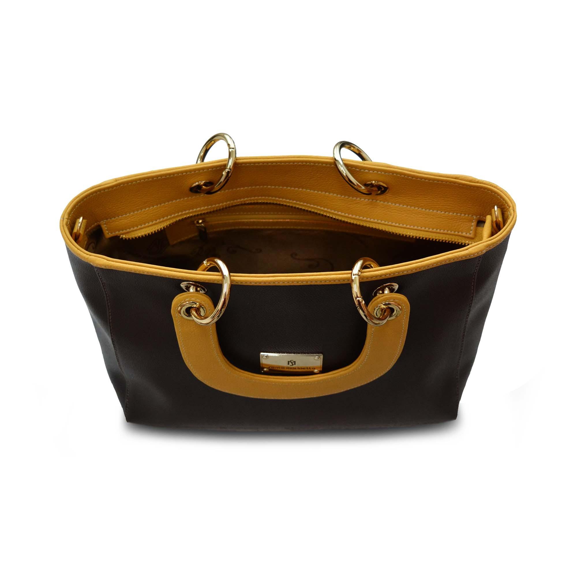 Bolsa de Mão SM 2685 - M.Liz Couro