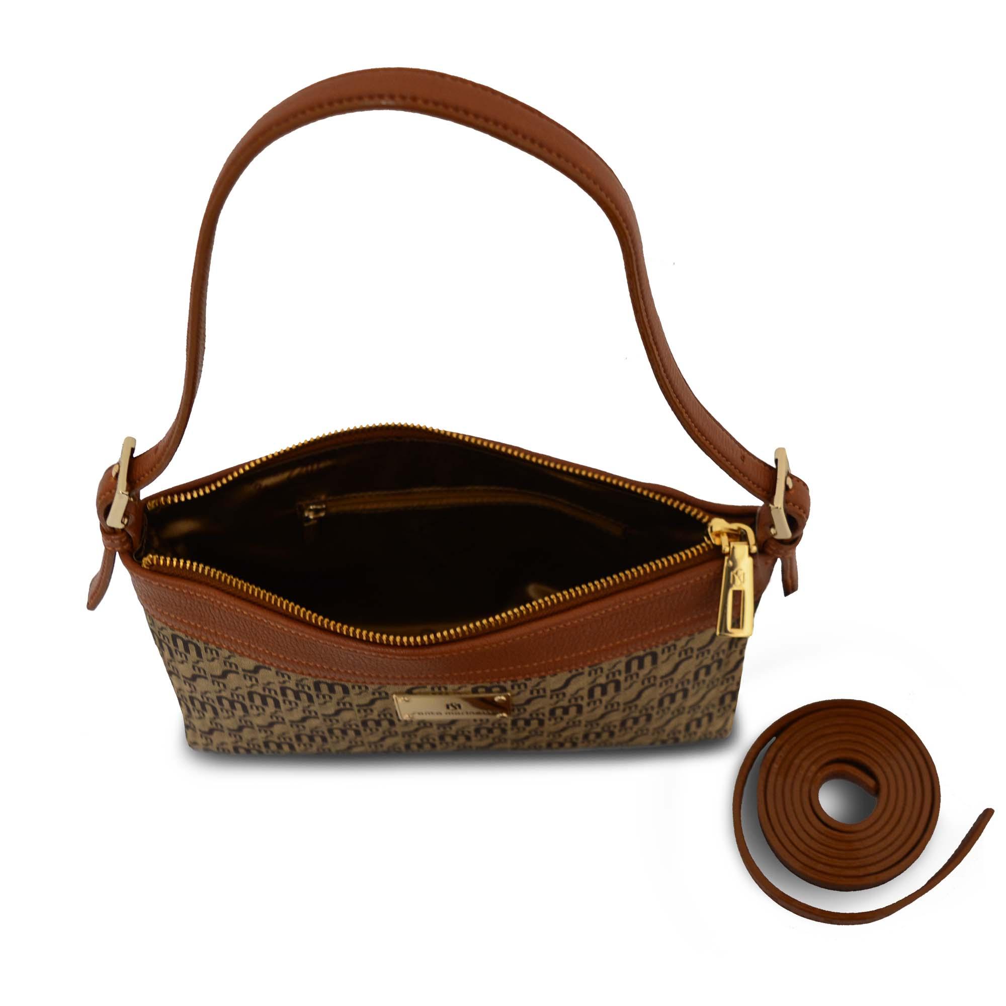 Bolsa de Mão SM 2809 - Monograma Couro