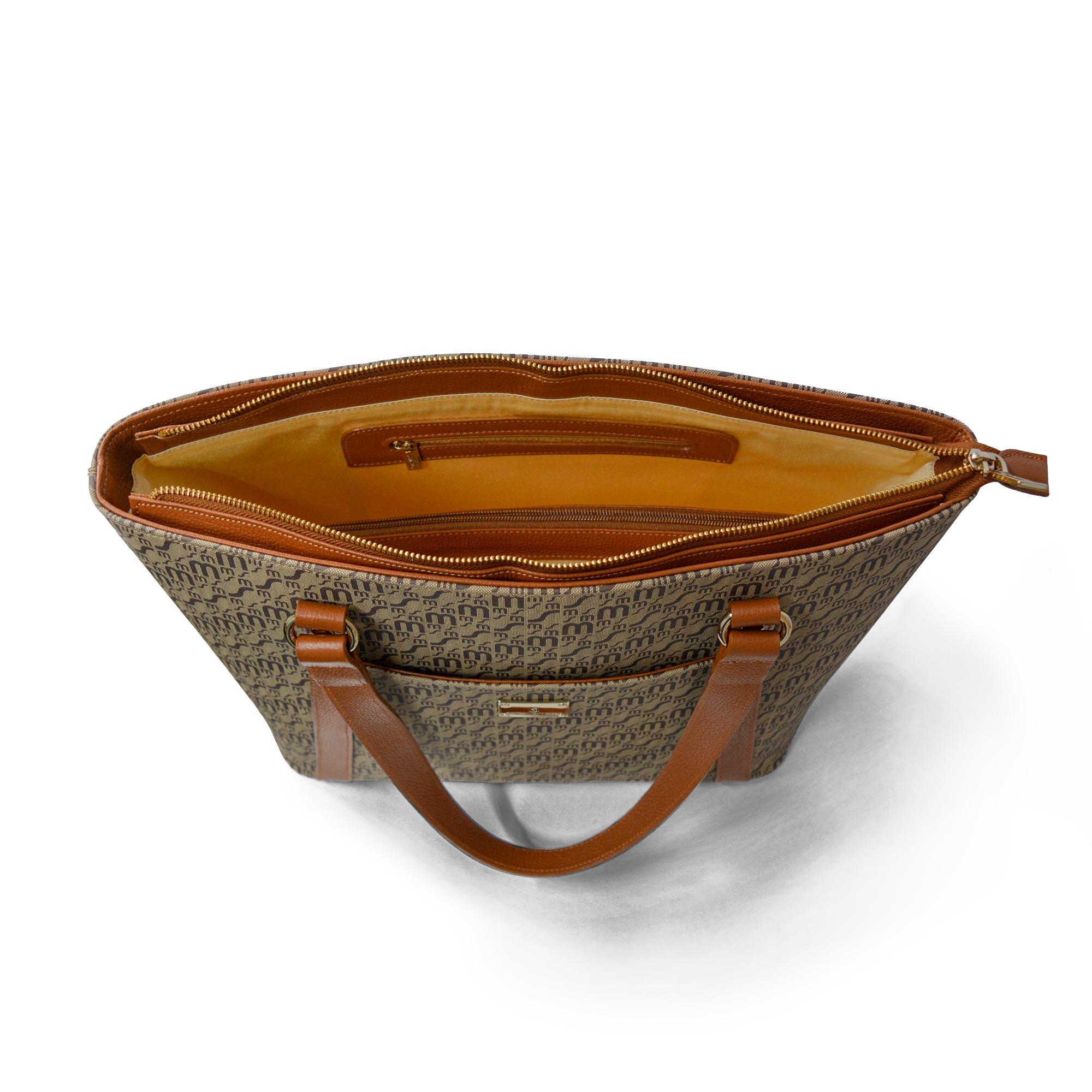 Bolsa de Mão SM 2921 - Monograma Couro