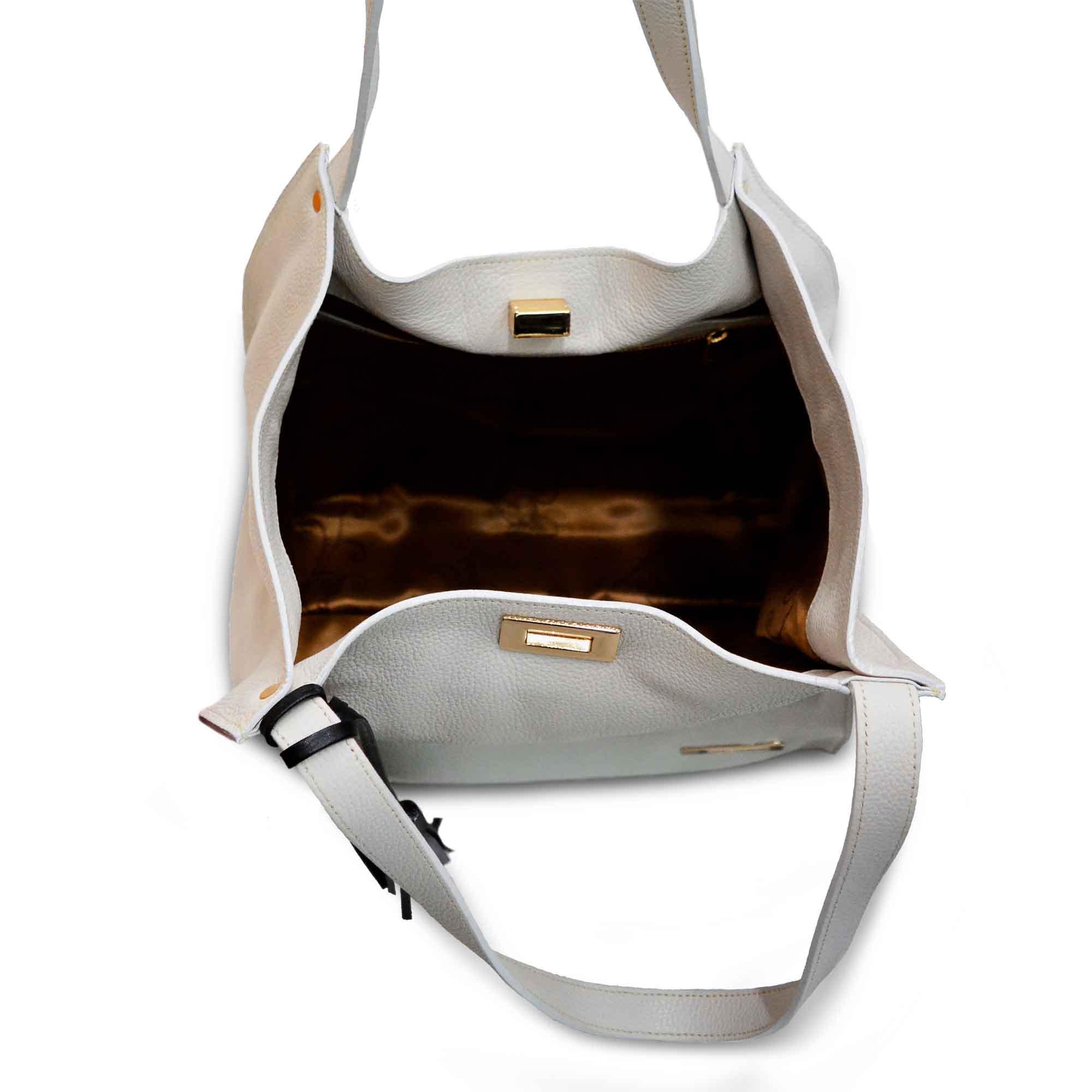 Bolsa de Ombro SM 2854 - Couro Floater
