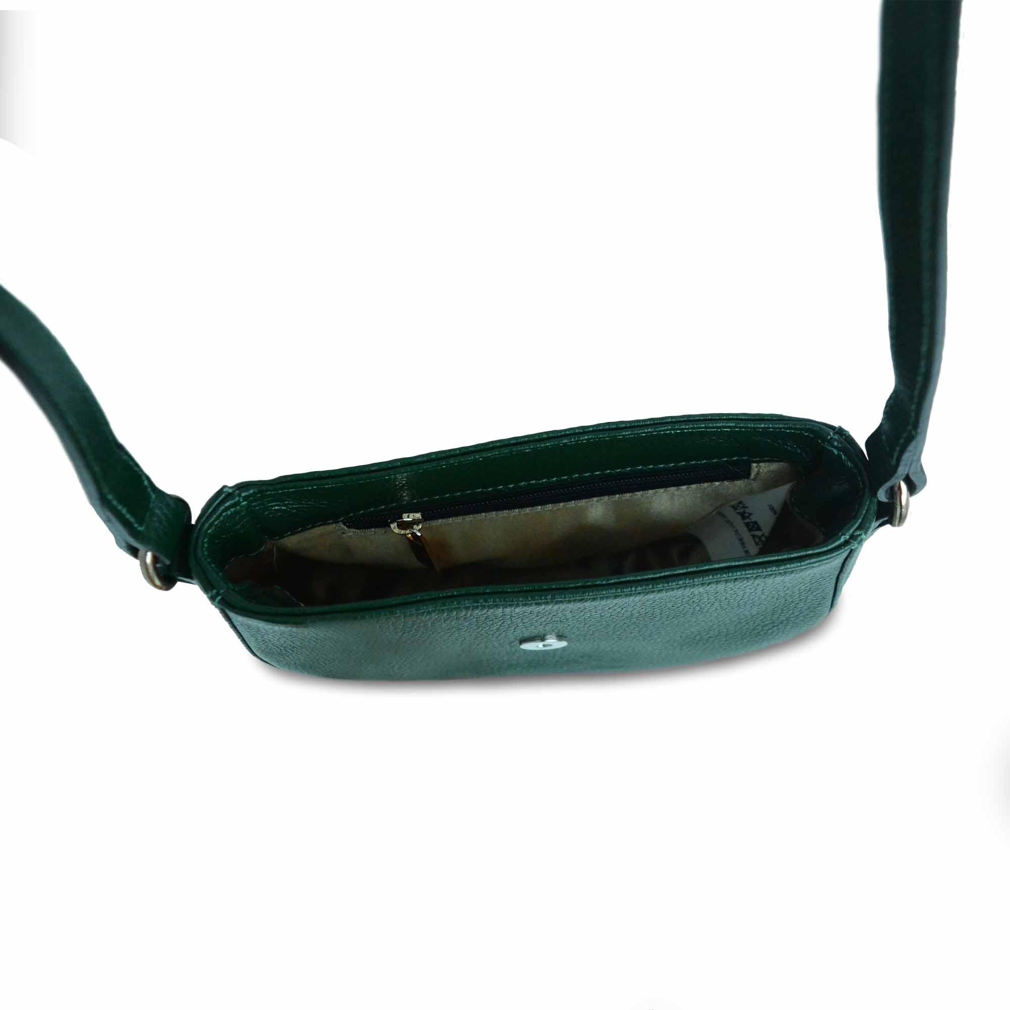 Bolsa Transversal SM 2868 - Couro Floater