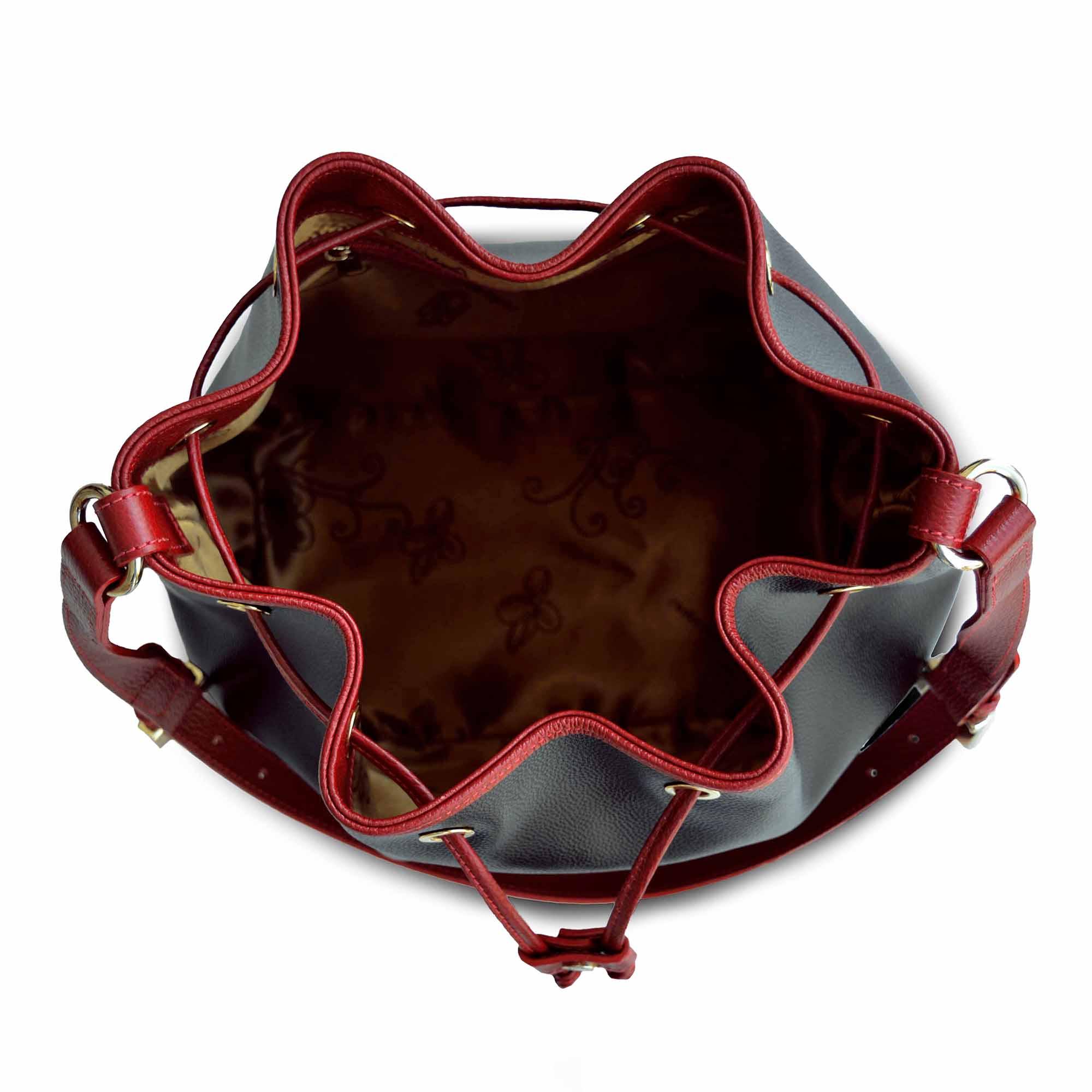 Bolsa de Ombro SM 2678 - M.Liz Couro