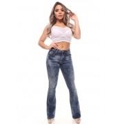 Calça Jeans Feminina Flare Crocker - 46403
