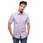 Camisa Estampada Masculina Manga Curta Crocker - 47239