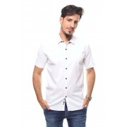 Camisa Masculina Manga Curta Crocker - 47174