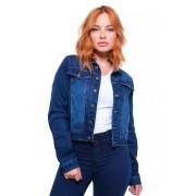Jaqueta Jeans Feminina Cropped Crocker - 47656