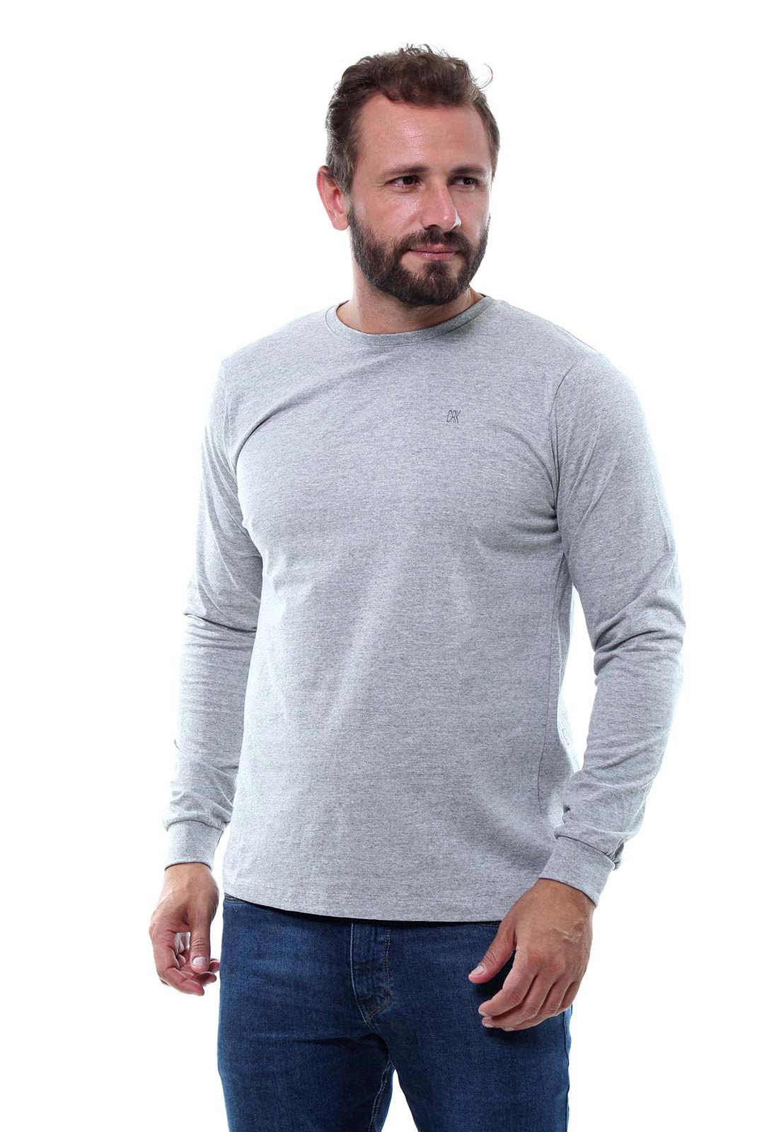 Kit 3 Camiseta Masculina Básica Crocker - 47661 Cores Variadas  - CROCKER JEANS