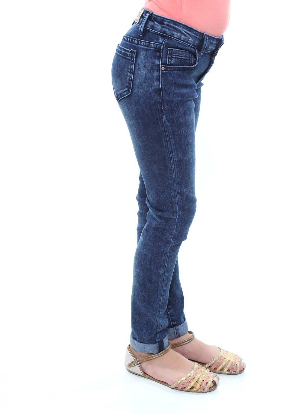 Calça Jeans Skinny Juvenil Feminina Crocker - 45923  - CROCKER JEANS