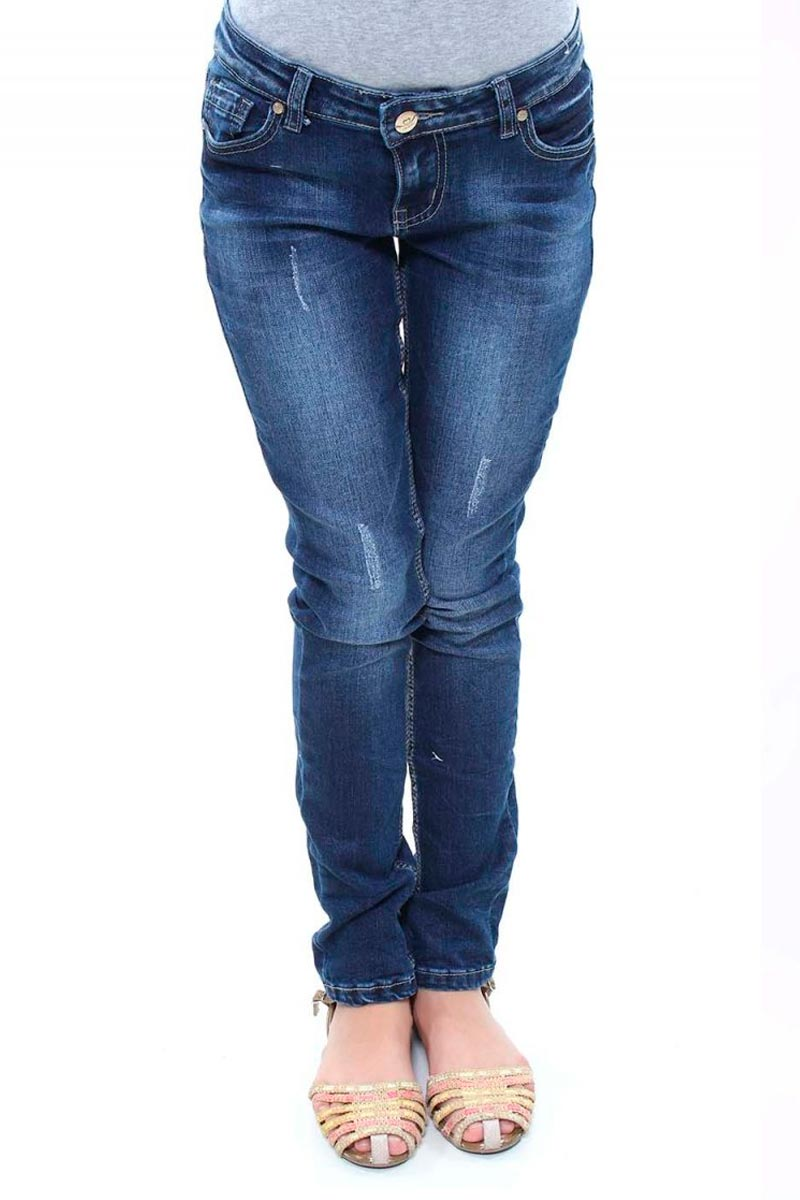 Calça Jeans Skinny Juvenil Feminina Crocker - 45922  - CROCKER JEANS