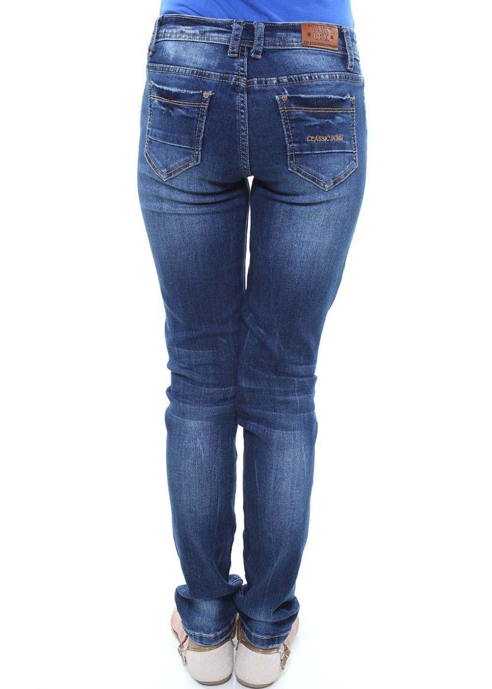 Calça Jeans Skinny Juvenil Feminina Crocker - 45925  - CROCKER JEANS