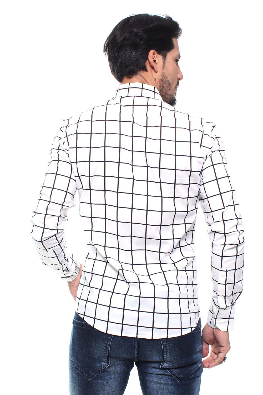 Camisa Estampada Masculina Fit Manga Longa Crocker - 47156  - CROCKER JEANS