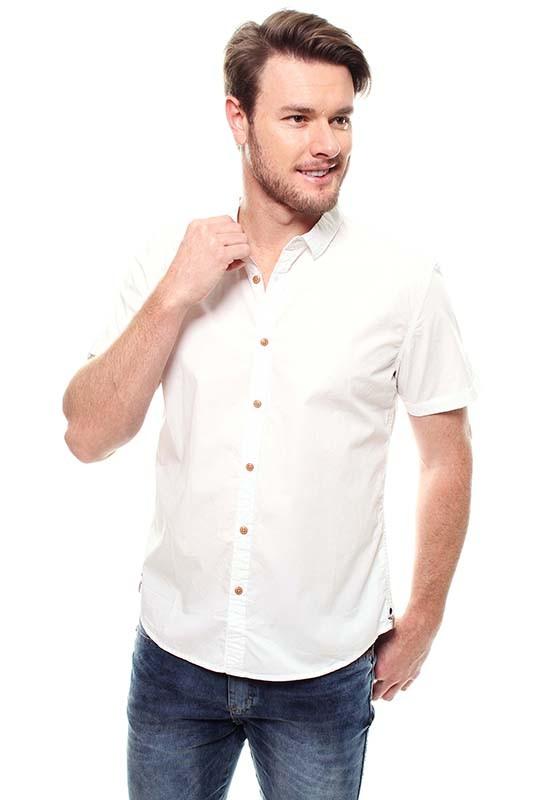 Camisa Masculina Manga Curta Crocker - 47213  - CROCKER JEANS