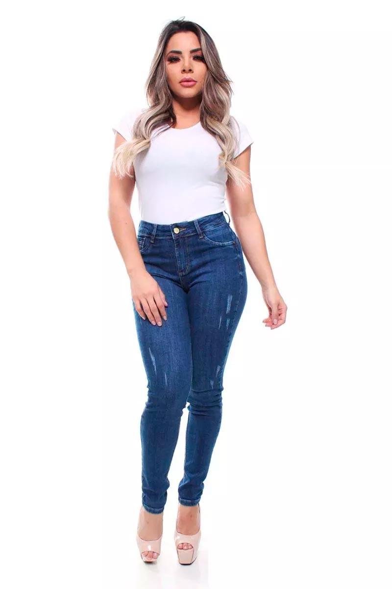 Calça Jeans Feminina Skinny Crocker - 47580