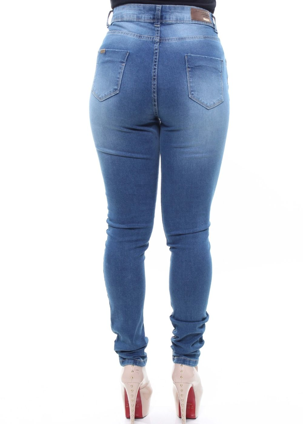 Calça Jeans Feminina Skinny Destroyed Crocker - 47644  - CROCKER JEANS