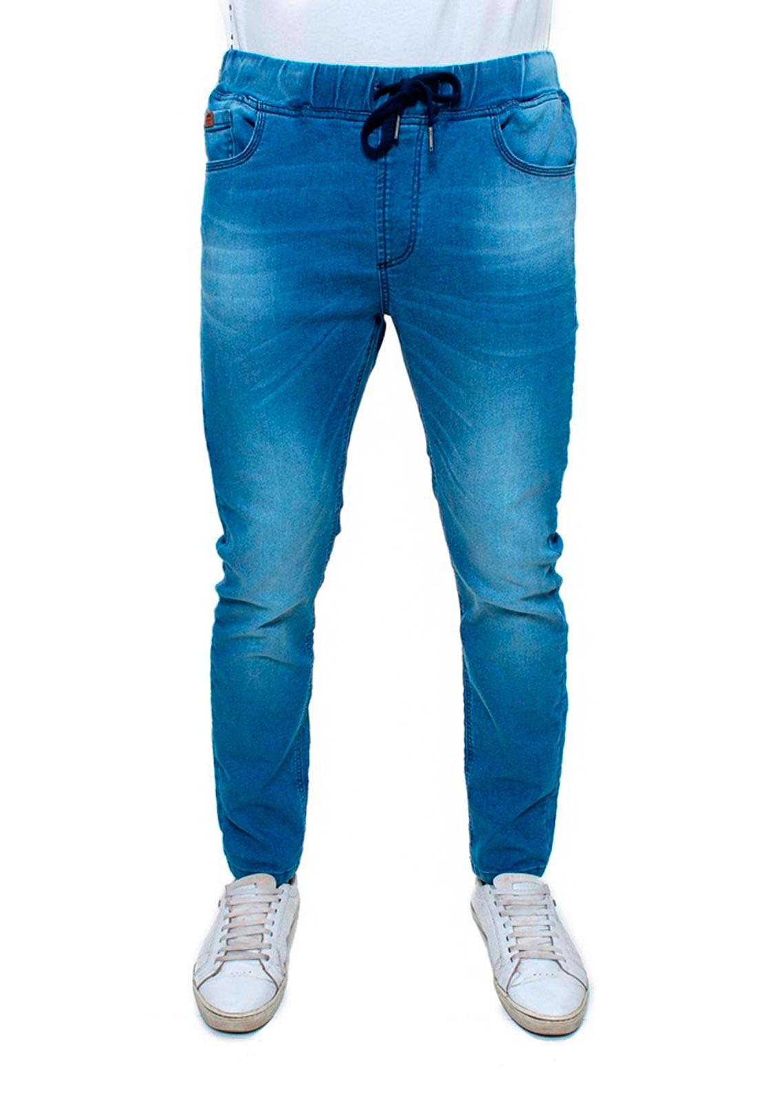 Calça Jogger Jeans Masculina - 47714