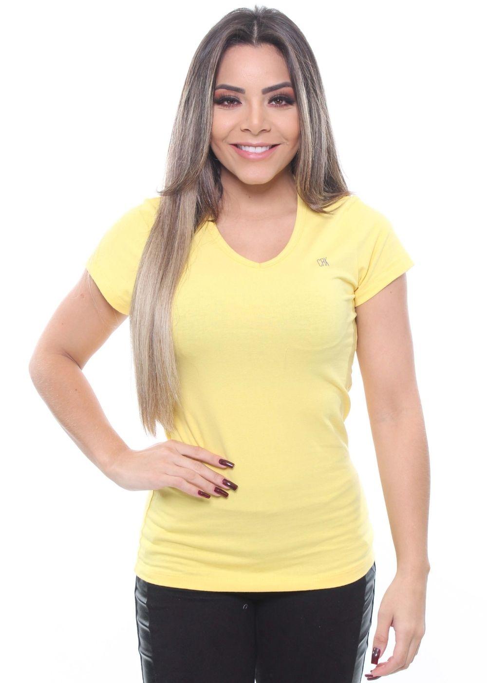 Baby Look Básica Feminina Crocker - 47721