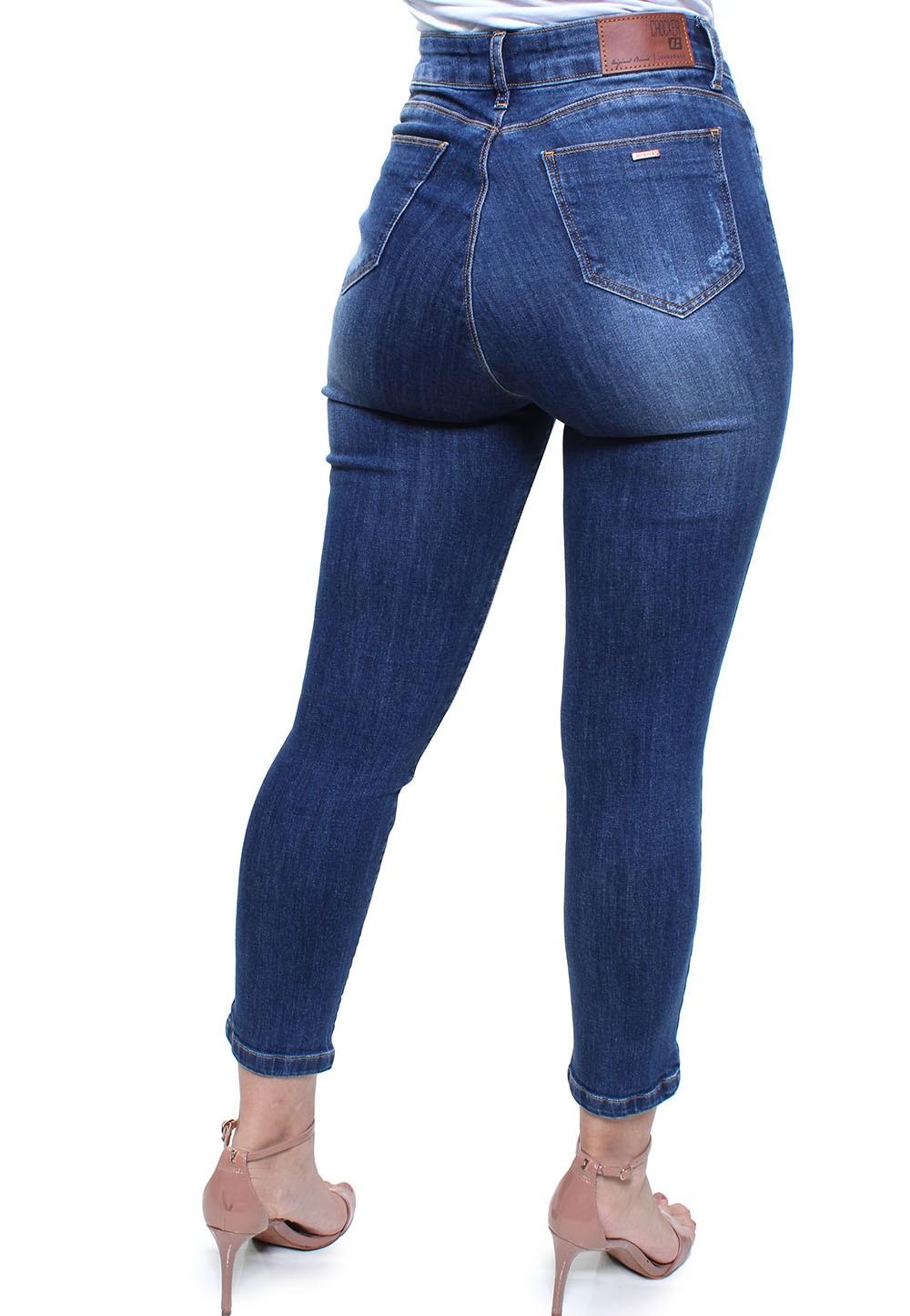 Calça Capri Jeans Feminina Crocker - 47732  - CROCKER JEANS
