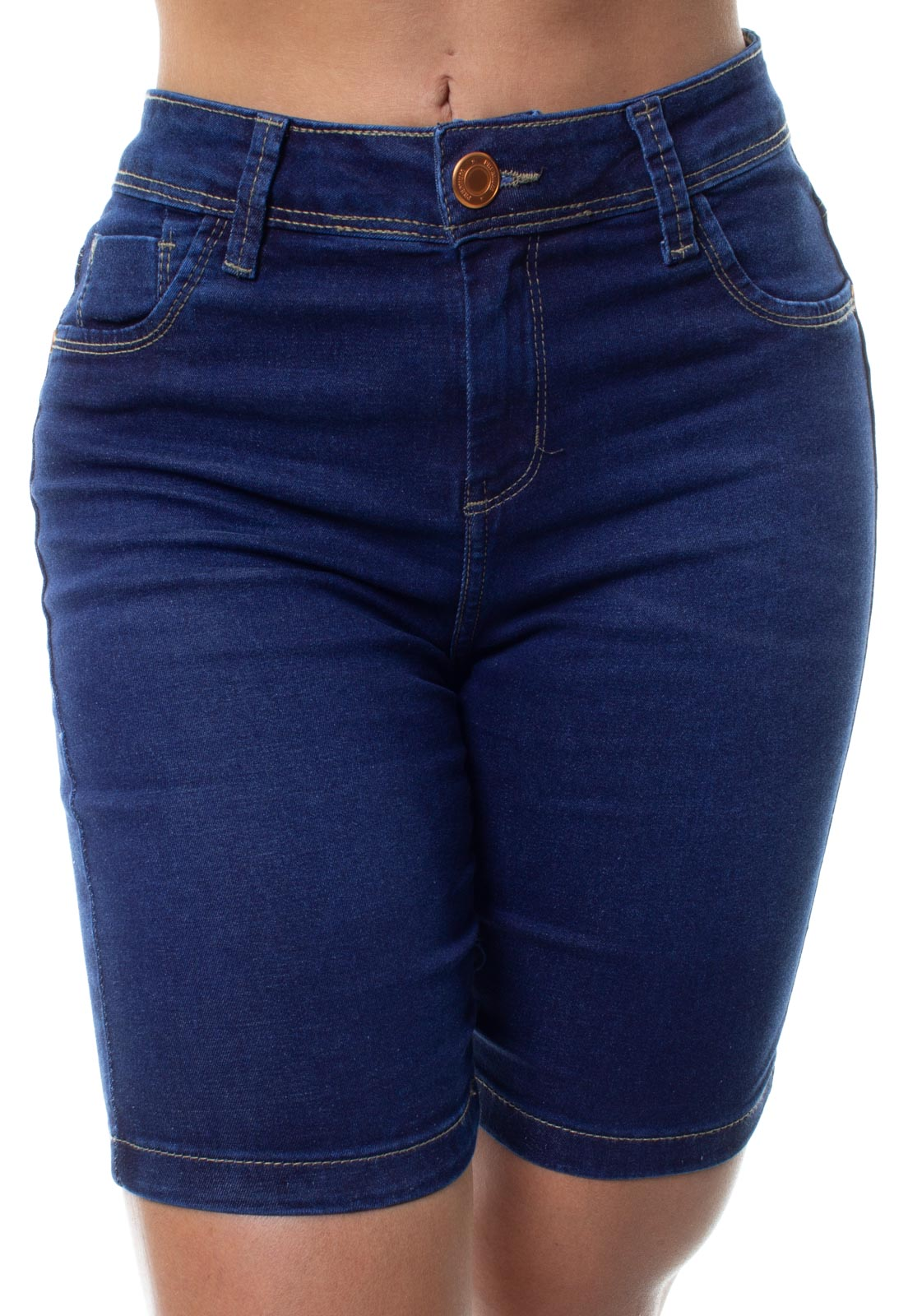 Bermuda Ciclista Jeans Feminina Crocker - 48170  - CROCKER JEANS