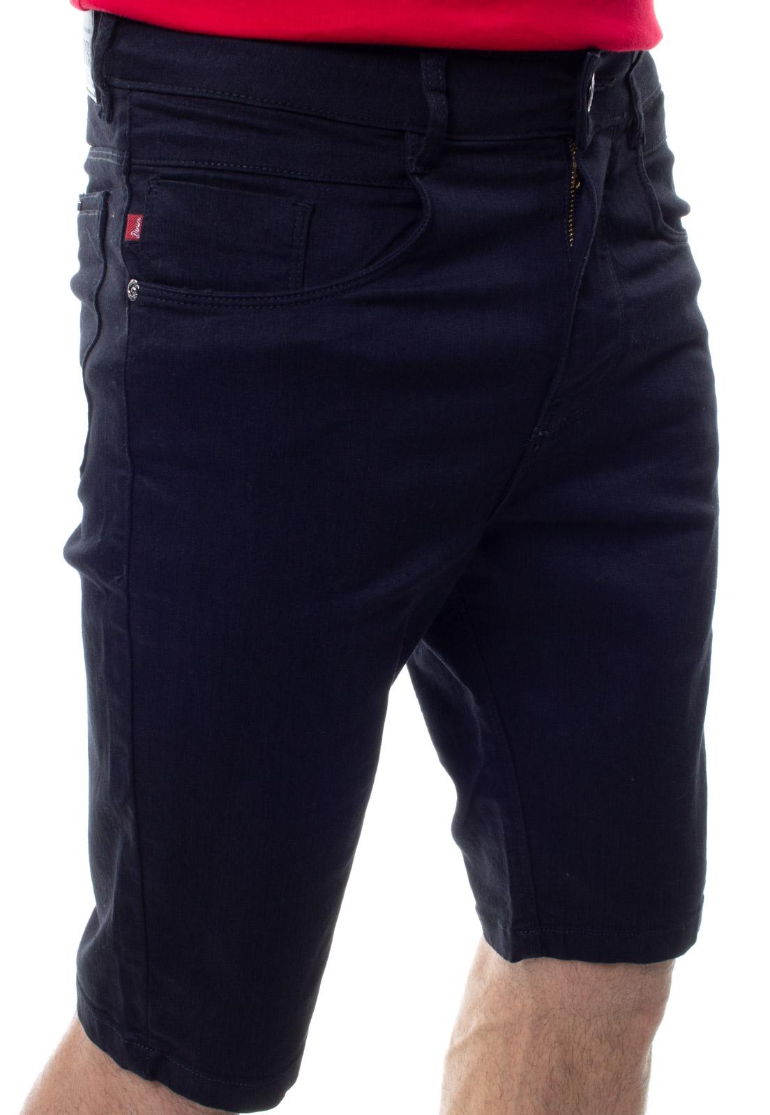 Bermuda Confort Jeans Masculina Crocker - 48278  - CROCKER JEANS