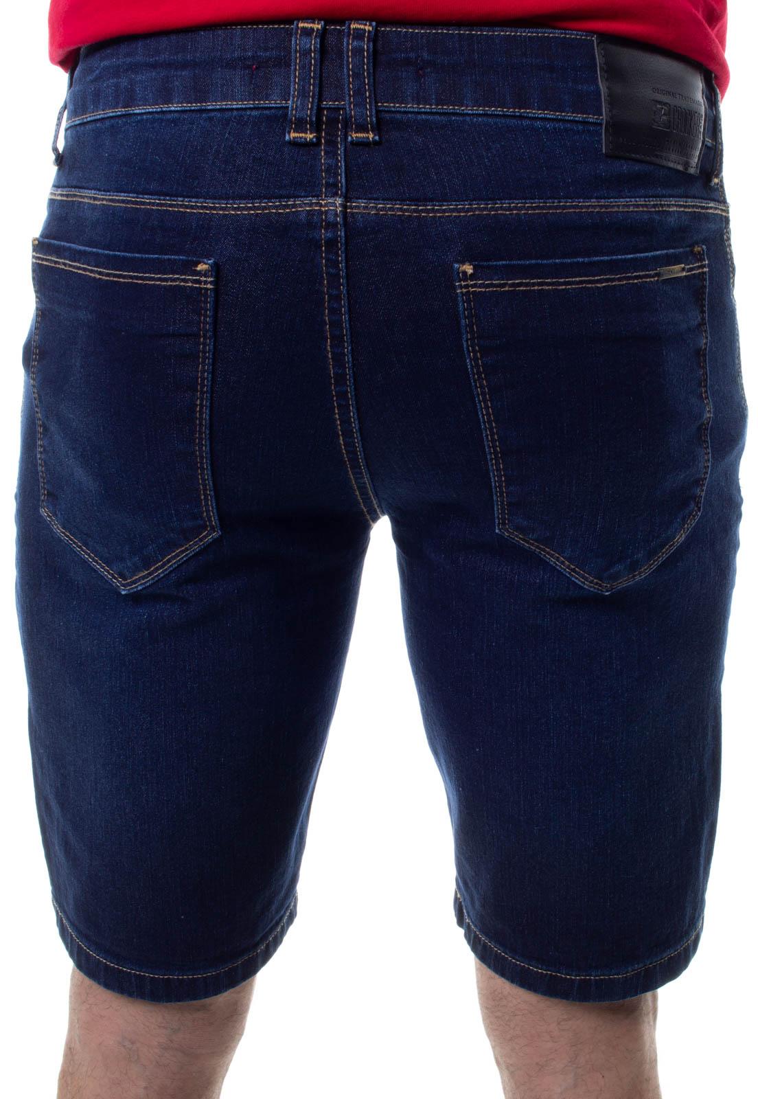 Bermuda Confort Jeans Masculina Crocker - 48281  - CROCKER JEANS