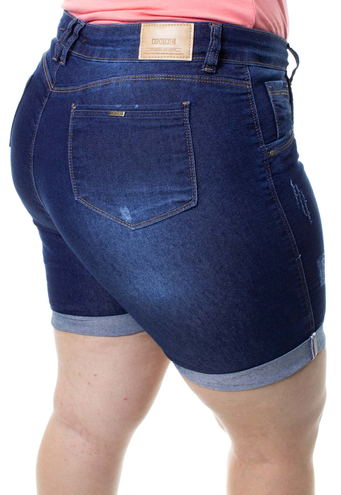 Bermuda Feminina Plus Size Crocker - 48299  - CROCKER JEANS