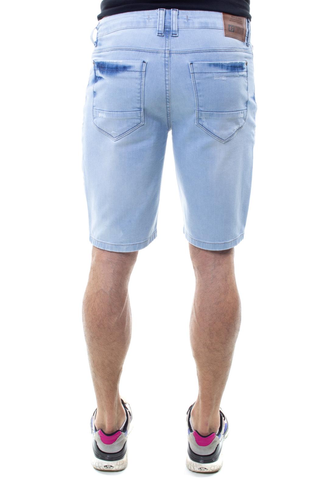 Bermuda Jeans Masculina Confort Crocker- 48282  - CROCKER JEANS